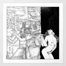 Asc 580 - Le Passage (Le… Art Print