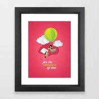 For The Adventure Of Lov… Framed Art Print