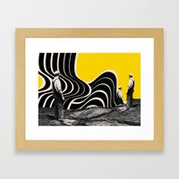 , and they can occur any number of times. Framed Art Print