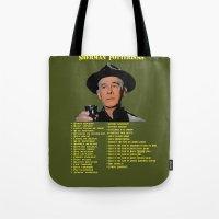 Sherman Potterisms Tote Bag