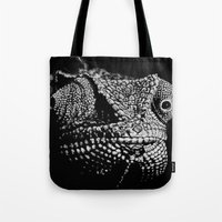The One Most Adaptable to Change (Chameleon) Tote Bag