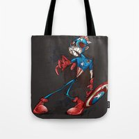 ZOMBIE CAPTAIN  Tote Bag