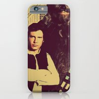 Chewbacca & Han Solo - American Gothic iPhone 6 Slim Case