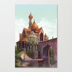 The Beast's Castle Canvas Print