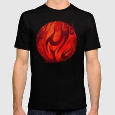 Fireball SMALL Mens Fitted Tee Black