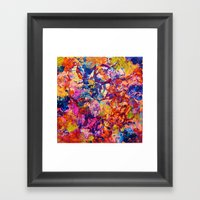 EVERYBODY'S COASTER- Bol… Framed Art Print