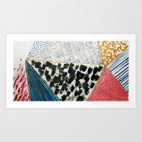 Pattern Making Art Print