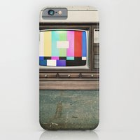 Floor Model Test Pattern iPhone 6 Slim Case