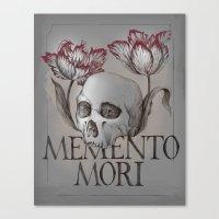 Memento Mori Canvas Print