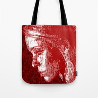 thoughtful woman Tote Bag