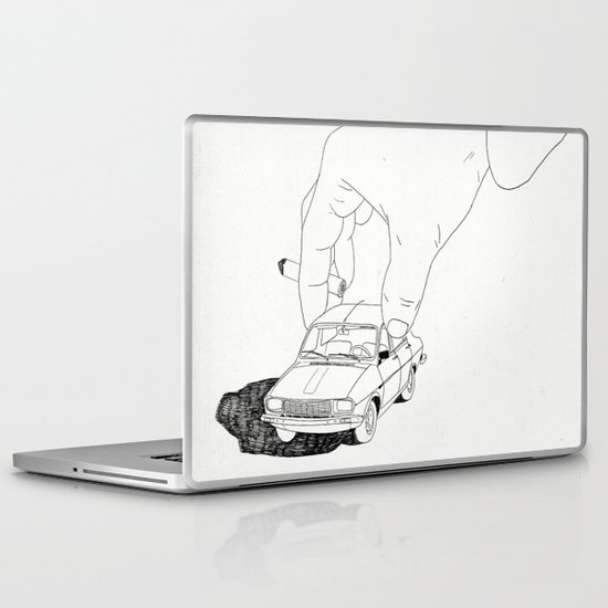 Driving home Laptop & iPad Skin