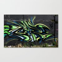 Free Flow Canvas Print