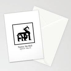 Taurus: the Bull Stationery Cards