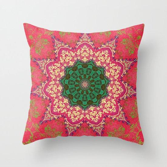 Royal Mandala 1 Throw Pillow