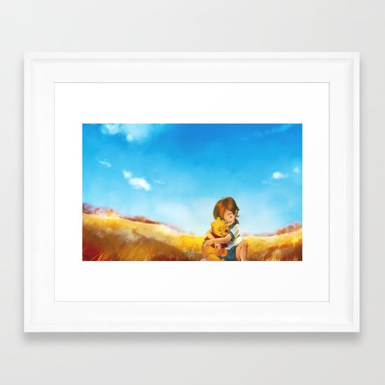 Everything is Right Framed Art Print
