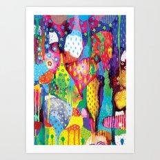The Art Forest Art Print