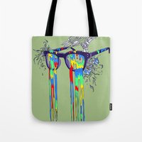 Technicolor Vision Tote Bag