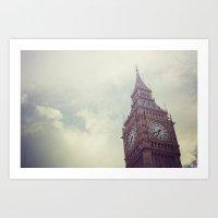 Gloomy Days of London Art Print