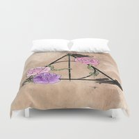 The Deathly Hallows Duvet Cover