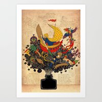 Piri Reis Art Print