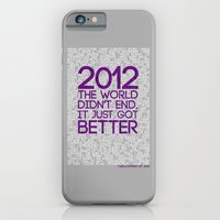 iPhone & iPod Case featuring 2012...It Was Emotional by Salmanorguk