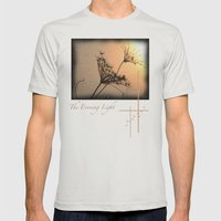 The Evening Light Mens Fitted Tee Silver SMALL