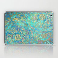Sapphire & Jade Stained … Laptop & iPad Skin