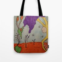 Tim and Missis Tree Tote Bag