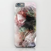 iPhone & iPod Case featuring Winter Soldier by NKlein Design