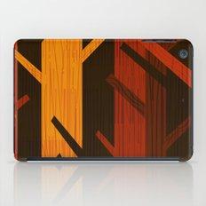 Retro Fall Woods by Friztin iPad Case