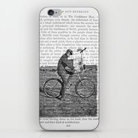1930s Boy on Bike Photo Collage iPhone & iPod Skin