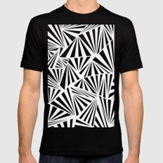 Ab Fan Spray Mens Fitted Tee SMALL Black