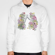Floral Anatomy Lungs Hoody