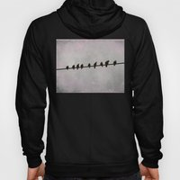 9 Birds on a Wire Hoody