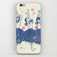 Dancing Poppies iPhone & iPod Skin