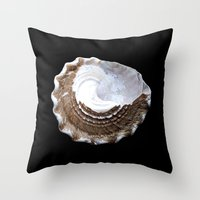 Shells Throw Pillow