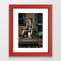 The Mungler Framed Art Print