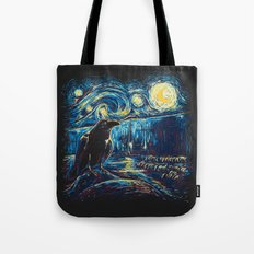 Starry Night's Watch Tote Bag