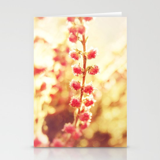 Sweet Heather Nature Photography Stationery Card