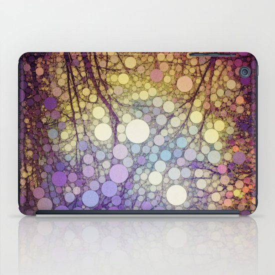 Woodland Abstract iPad Case