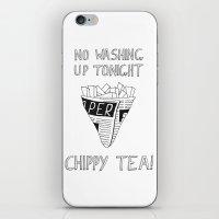 Chippy Tea iPhone & iPod Skin