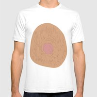 Nipple Mens Fitted Tee White SMALL