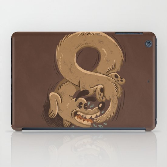 Chase Your Tail Forever iPad Case
