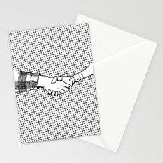 Man and Machine Stationery Cards