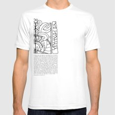 Threshold Guardian SMALL White Mens Fitted Tee