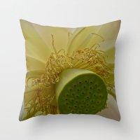 Lotus flower 5 Throw Pillow
