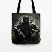 Call Of Duty Camo Tote Bag