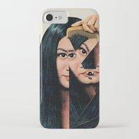 mountain iPhone & iPod Cases featuring Normalization by Eugenia Loli