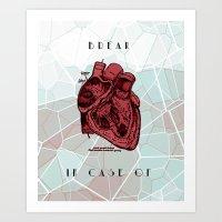 Art Print featuring Break by Citron Né