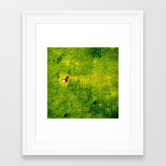 The Green Zone Framed Art Print